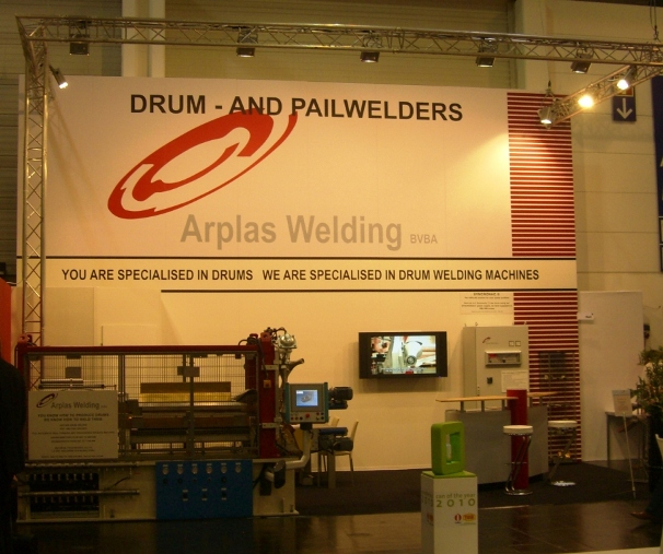 Arplas Welding at the Metpack 2011 exhibition.